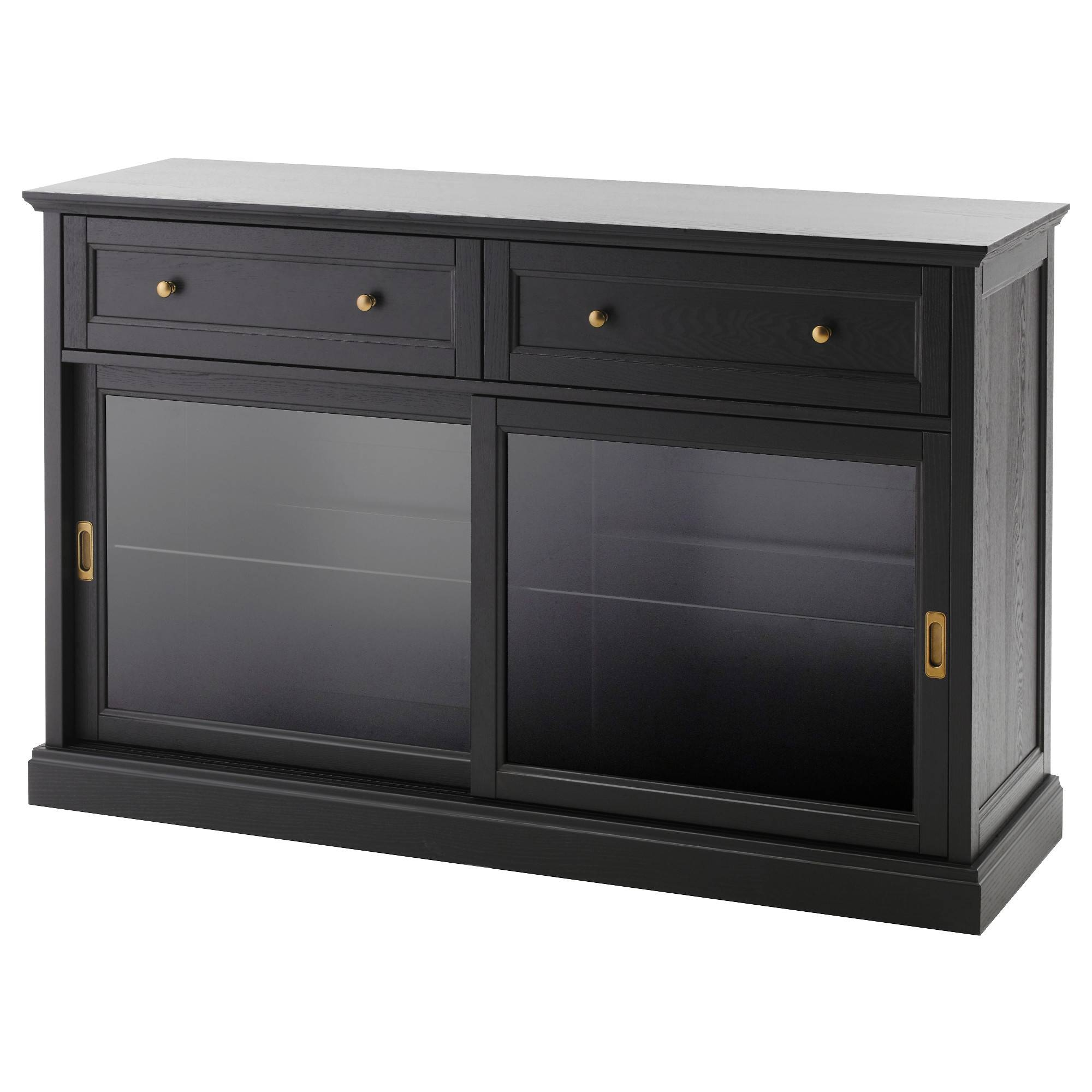 Malsjö Sideboard – Ikea Regarding 2018 Black Sideboard Cabinets (#8 of 15)