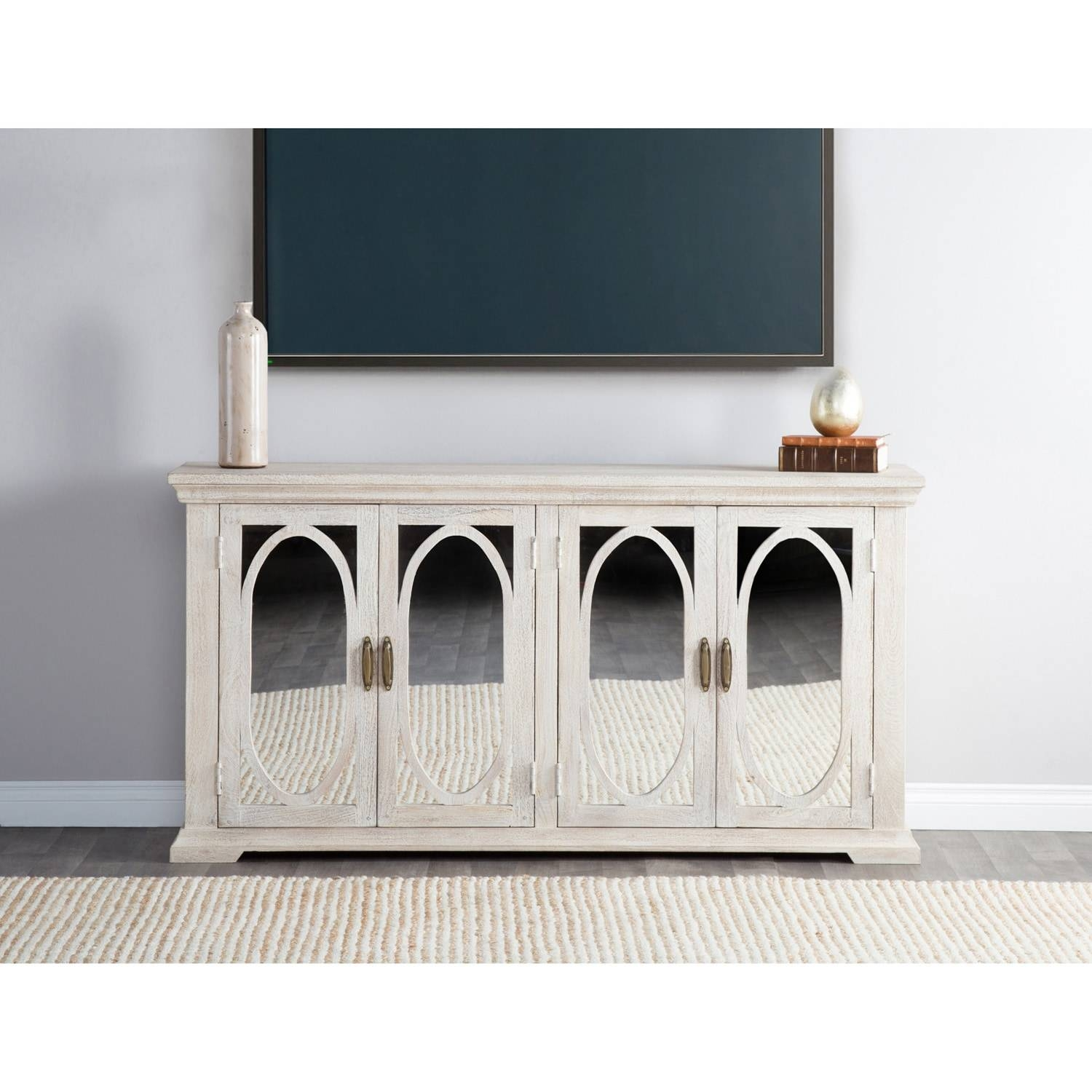 Manchester Wood Mirrored 70 Inch Sideboardkosas Home – Free In 2017 70 Inch Sideboards (#6 of 15)