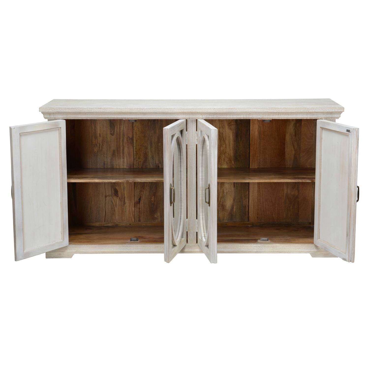 Manchester Wood Mirrored 70 Inch Sideboardkosas Home – Free Within Most Up To Date 70 Inch Sideboards (#11 of 15)