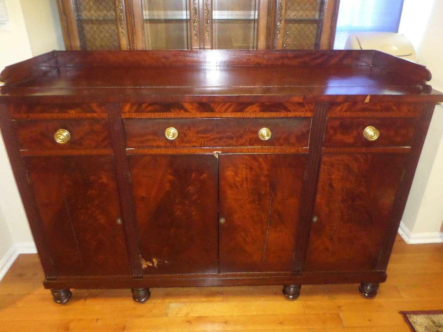 15 best ideas of mahogany sideboards buffets. Black Bedroom Furniture Sets. Home Design Ideas