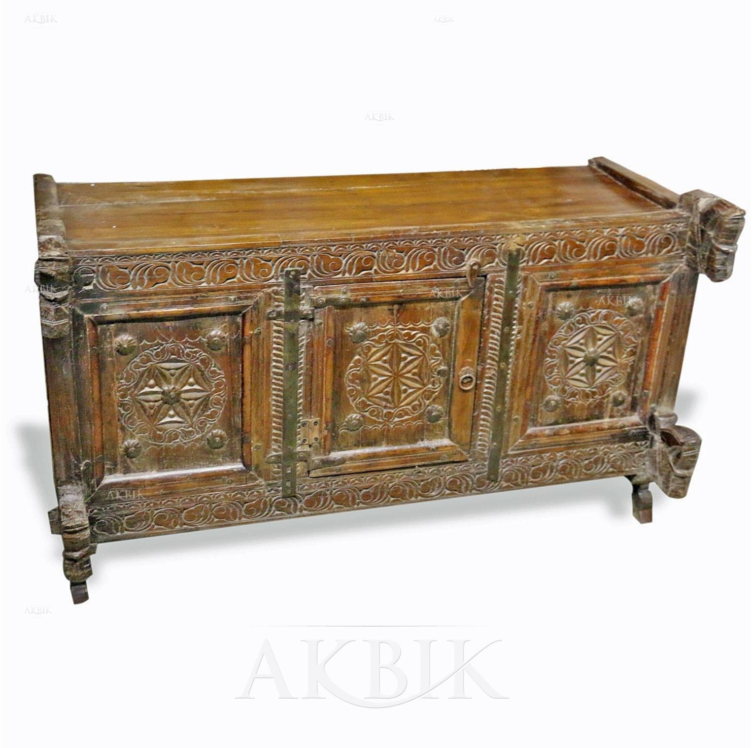 Mediterranean, Levantine & Syrian Furniture Inlaid With Mother Of Pertaining To Most Popular Indian Sideboard Furniture (#13 of 15)