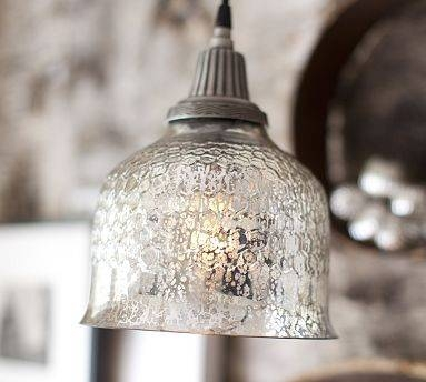 Mercury Glass | Within Best And Newest Mercury Glass Pendant Light Fixtures (#10 of 15)