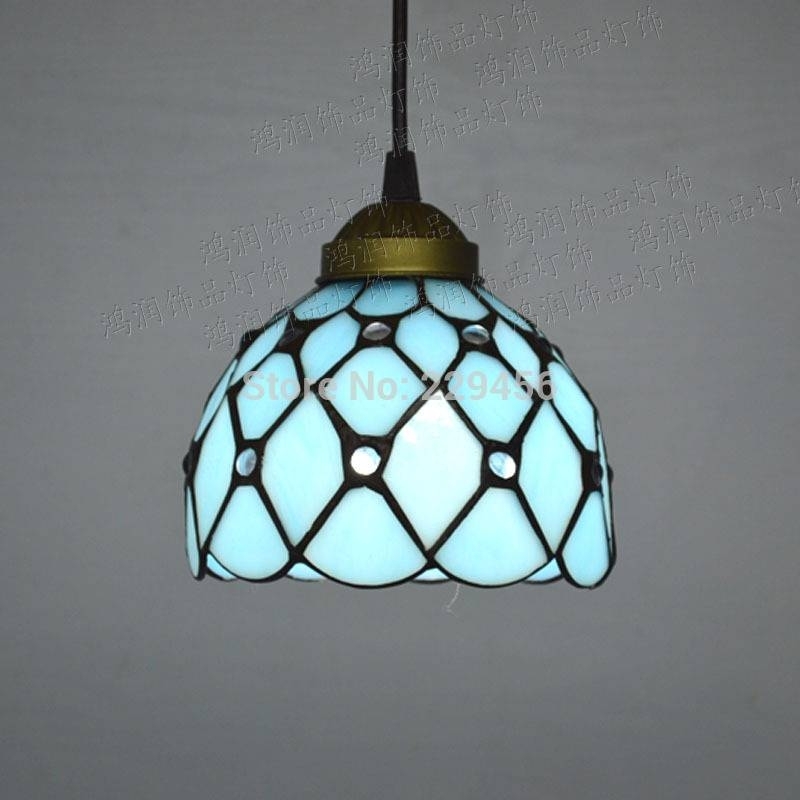 Metal Fixture And Stained Glass Tiffany Style Large Pendant Within Newest Tiffany Style Pendant Light Fixtures (View 3 of 15)