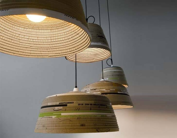 Popular Photo of Recycled Pendant Lights