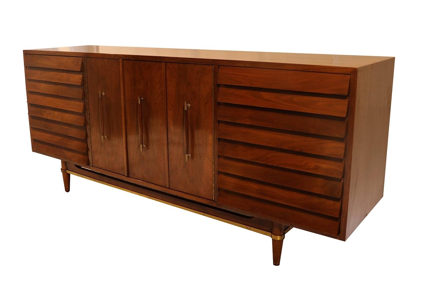 Mid Century Modern American Of Martinsville Dania Collection Inside Newest Dania Sideboards (#1 of 15)