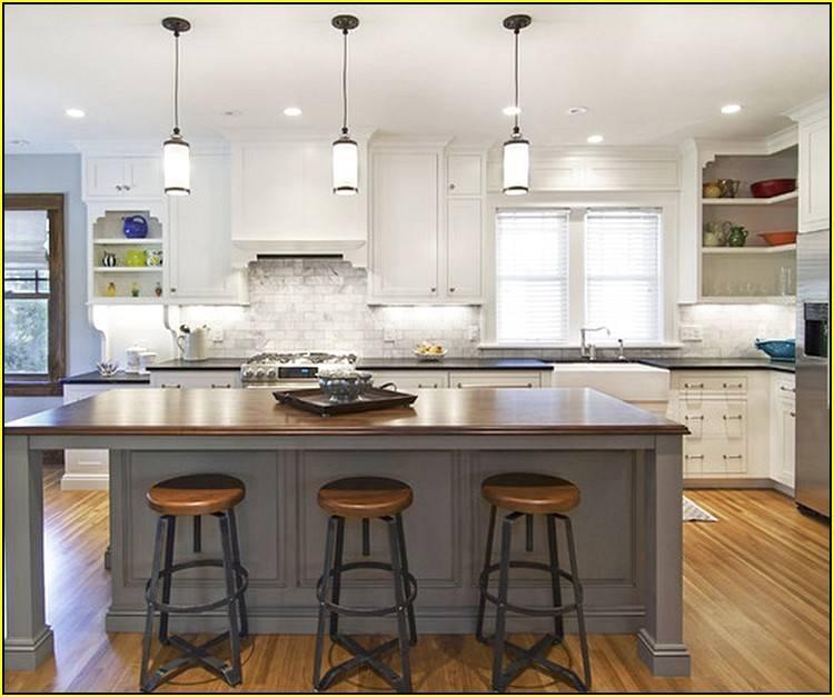 Mini Pendant Lights For Kitchen | Baytownkitchen Intended For 2018 Mini Pendant Lights Over Kitchen Island (#11 of 15)