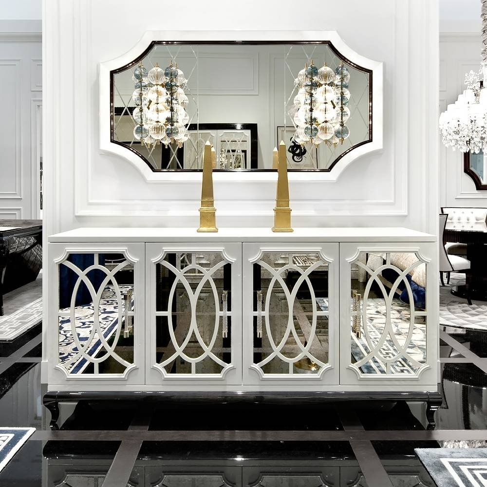 15 Best Collection Of Mirrored Buffet Sideboards