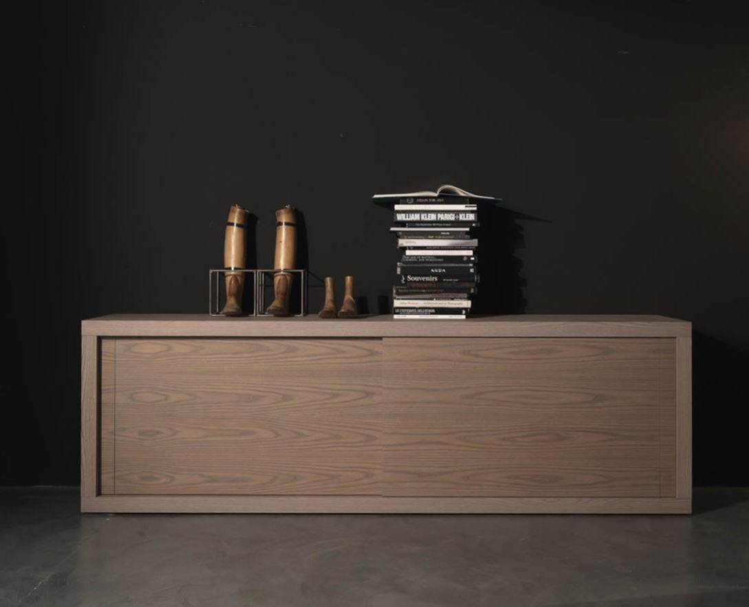 Modern Buffet Sideboard Wood — New Decoration : Modern Buffet For Most Up To Date Sideboards And Buffet Tables (#10 of 15)