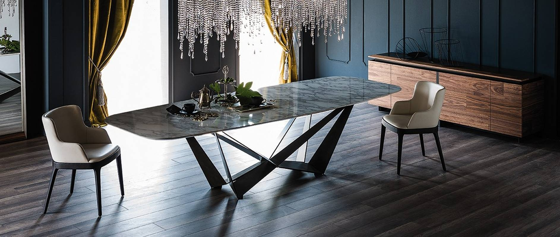 Modern Dining Room Furniture – Modern Dining Tables, Dining Chairs Within 2017 Dining Tables And Sideboards (#10 of 15)