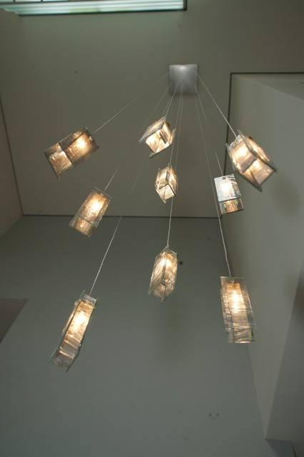 Modern Foyer Lights, Modern Blown Glass Pendants Light – Modern For Most Recent Entry Foyer Pendant Lighting (#12 of 15)