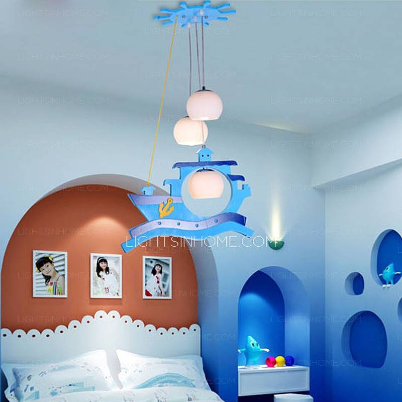 Modern Style Kids Cartoon Type Nautical Pendant Lights Pertaining To Recent Kids Room Pendant Lights (#14 of 15)