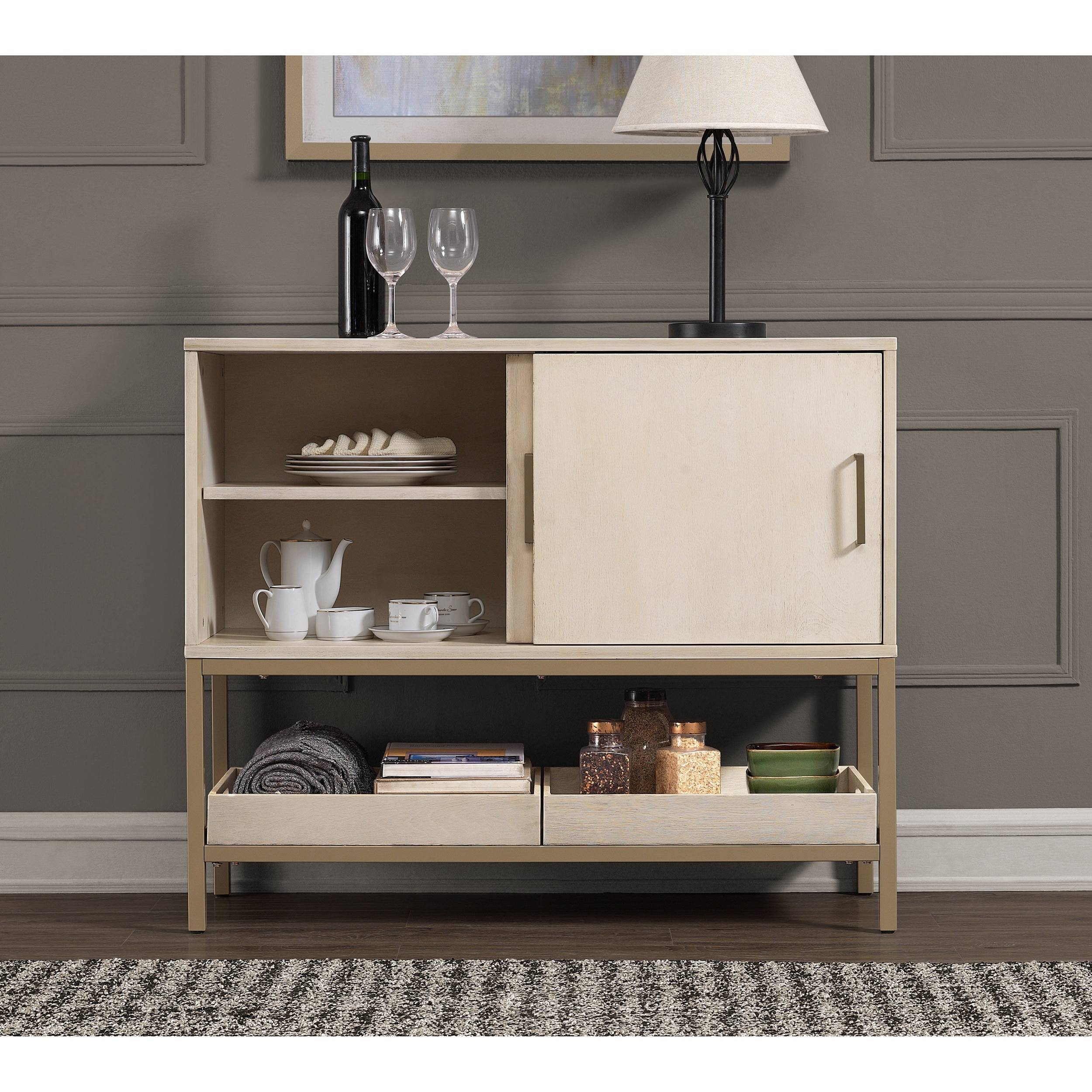Moonlight 42 Inch Buffet – Free Shipping Today – Overstock In Most Recently Released 42 Inch Sideboards (#8 of 15)