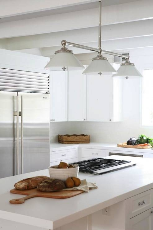 Popular Photo of 3 Pendant Lights For Kitchen Island