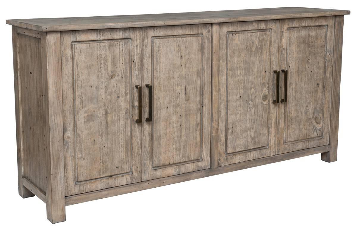 Novel 4 Door Reclaimed Wood Sideboard – Top Drawer Furniture For Newest Reclaimed Wood Sideboards (#5 of 15)