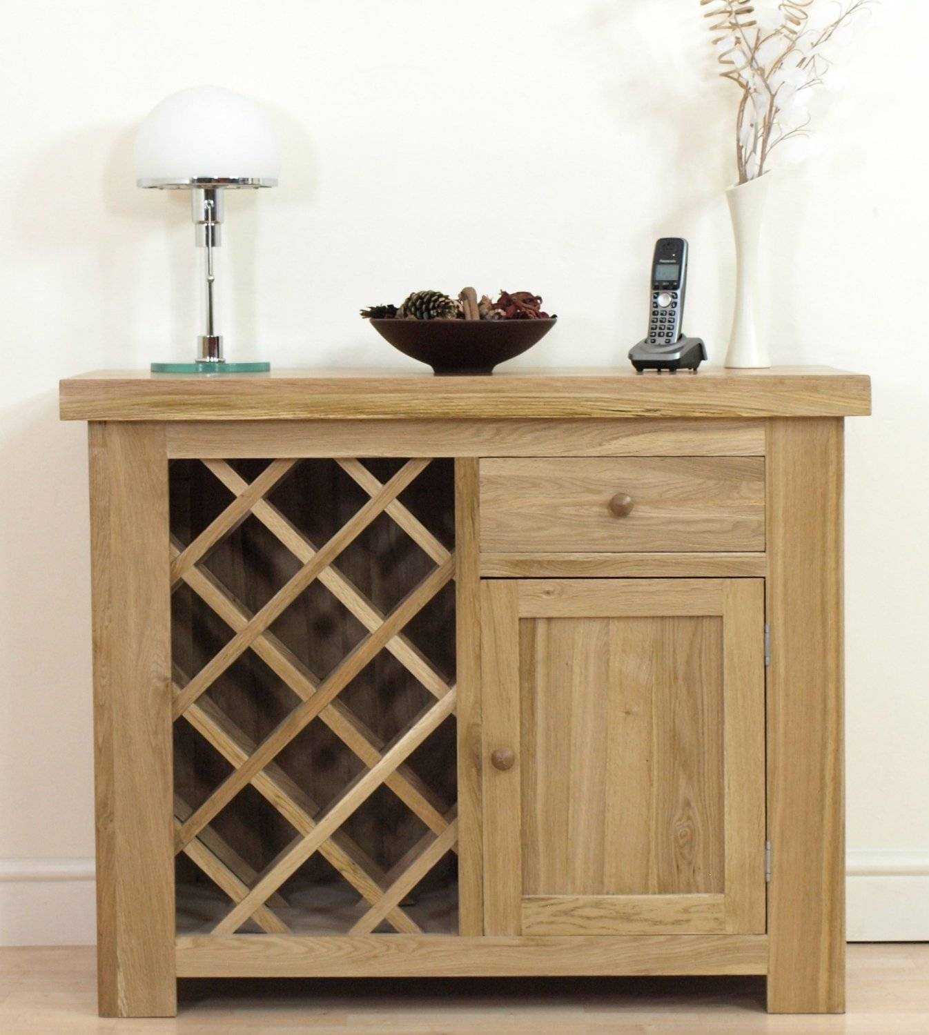 Oak Sideboard With Wine Rack | Home Design Ideas In Best And Newest Sideboards With Wine Rack (#9 of 15)