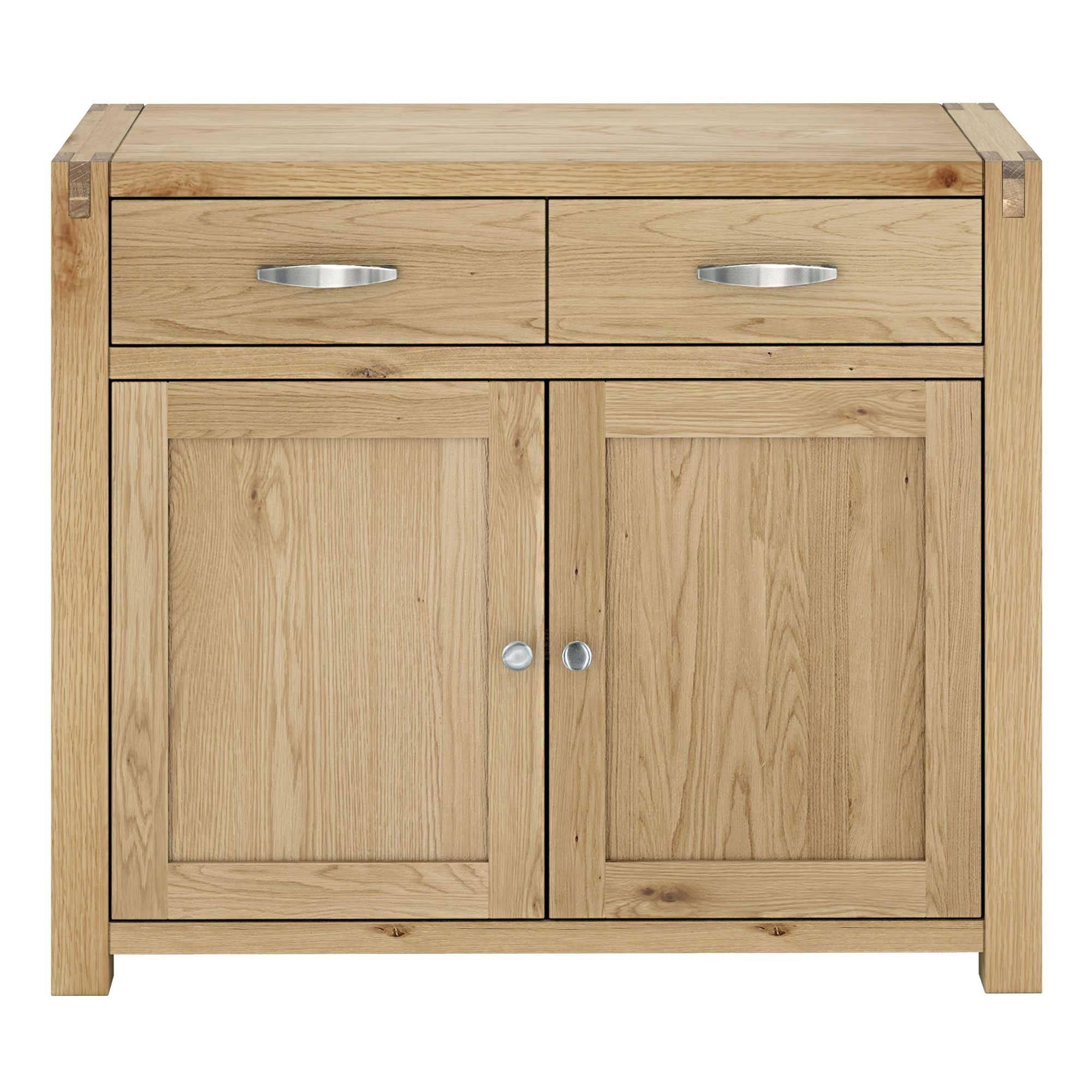 Oak Sideboards Express Delivery Alto Natural Solid Oak Large Regarding Most Recently Released Natural Oak Sideboards (#11 of 15)