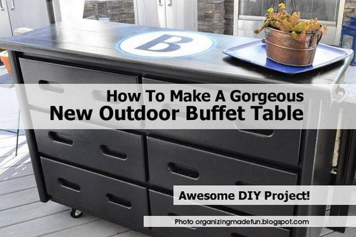 Outdoor Buffet2 Organizingmadefun Blogspot Com Within Latest Outdoor Sideboard Cabinets (#9 of 15)