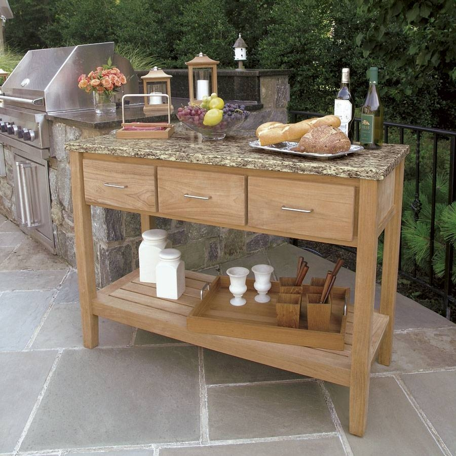 Outdoor Furniture Buffet Cabinet : The Function Of Outdoor Buffet Within 2018 Outdoor Sideboard Cabinets (#7 of 15)