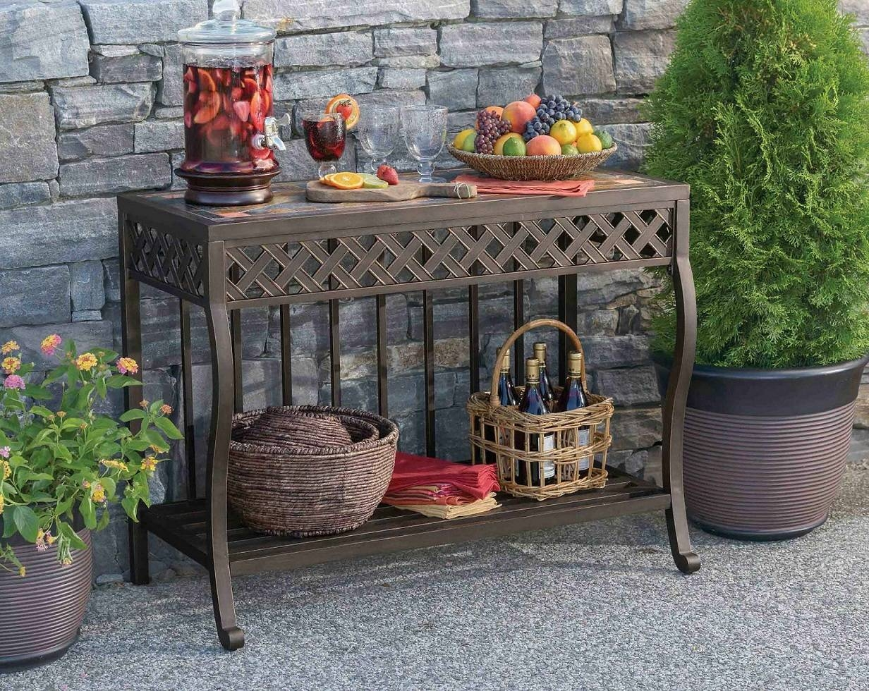 15 Best of Outdoor Sideboards With Console Table