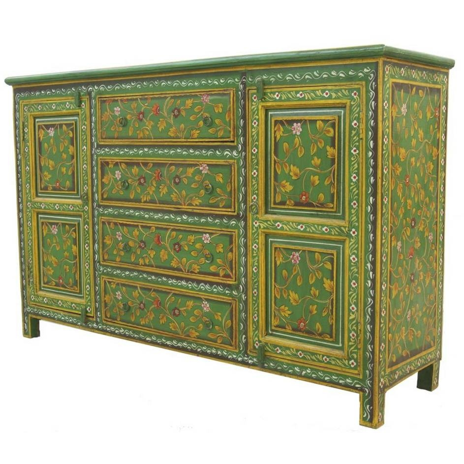 Popular Photo of Green Sideboards