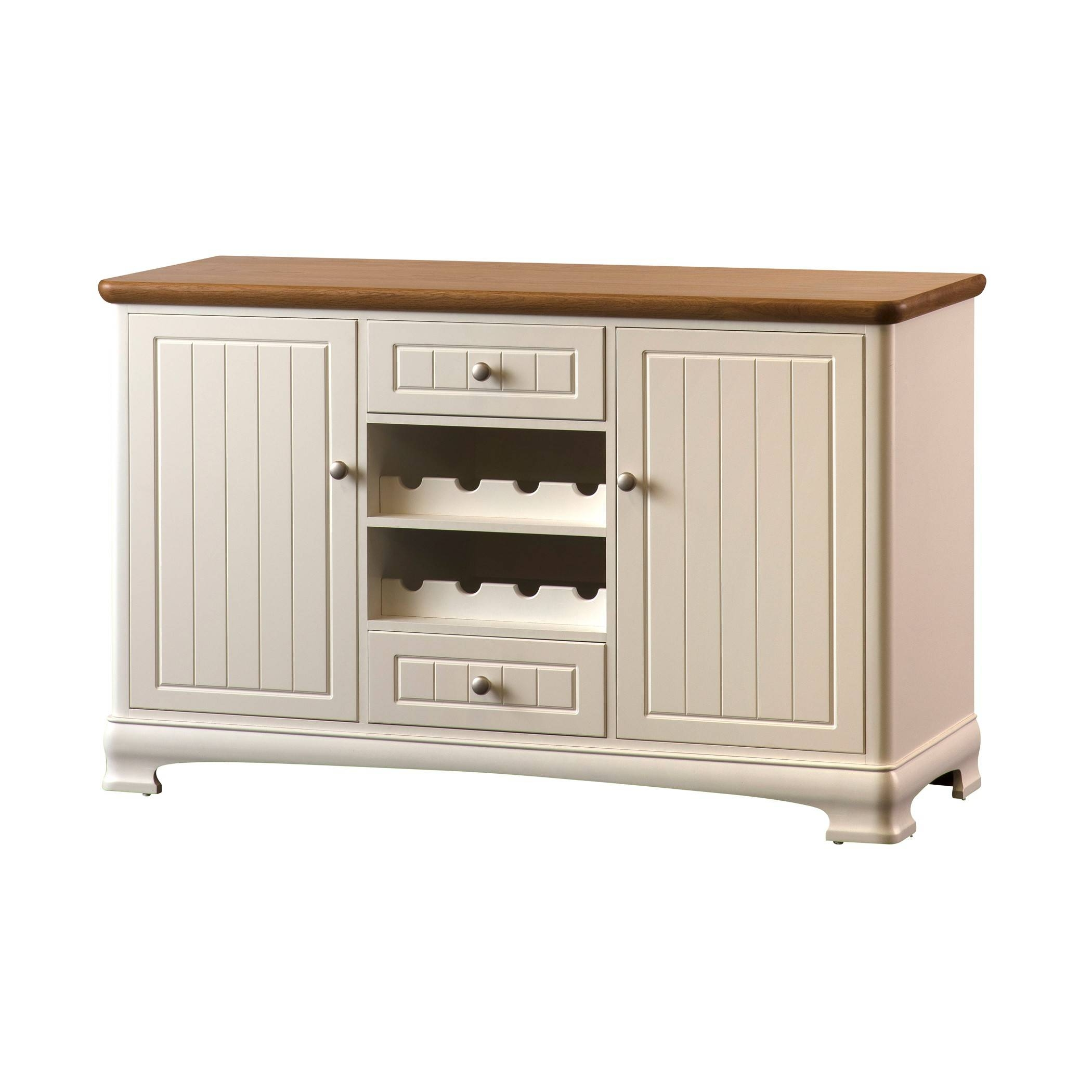 Painted Large Sideboard With Wine Rack | Gola Furniture Uk Regarding Most Current Sideboards With Wine Rack (#11 of 15)
