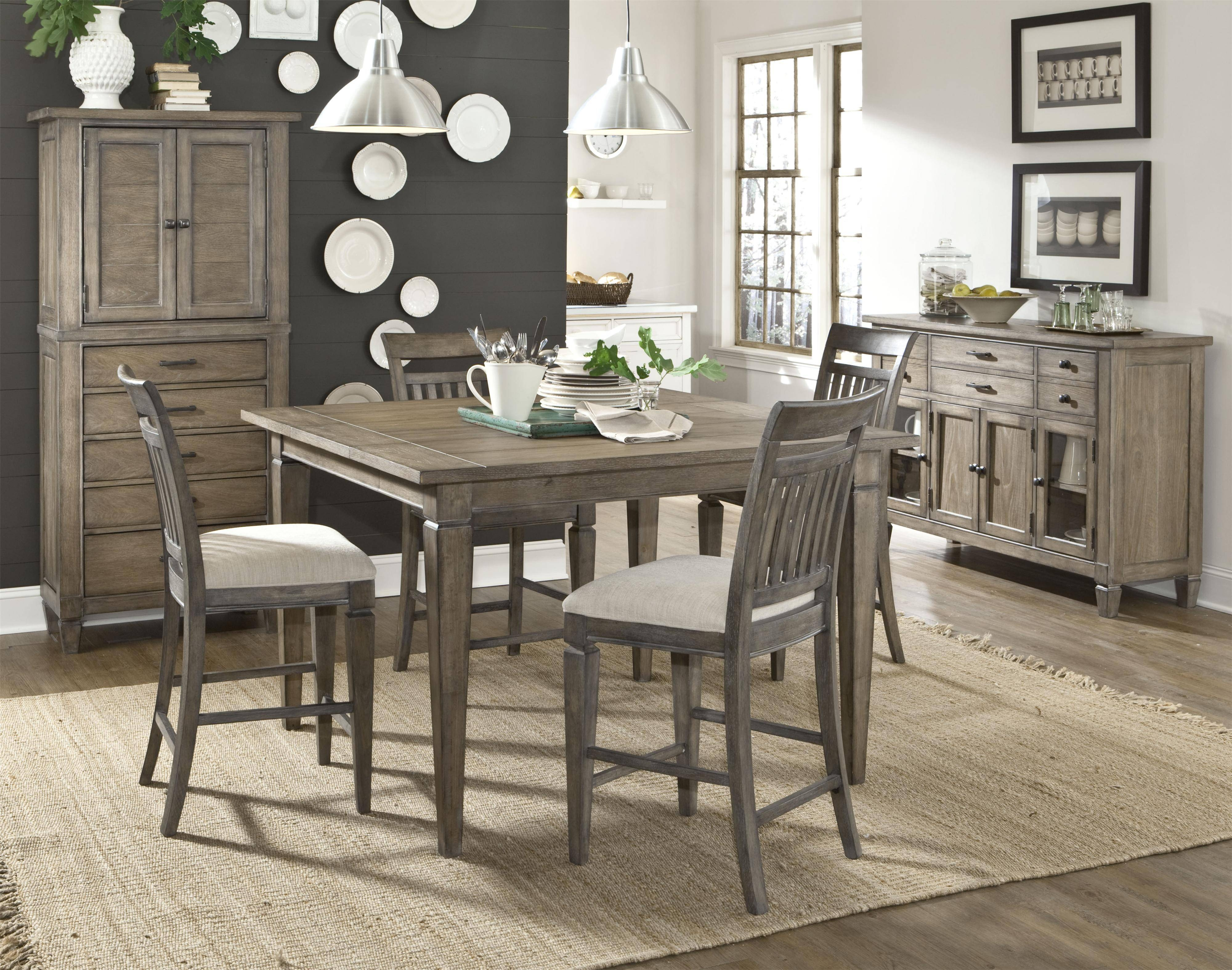 Peachy Dining Room Set Sideboard | Home Inspired 2018 With Regard To Most Current Dining Room Sets With Sideboards (#14 of 15)