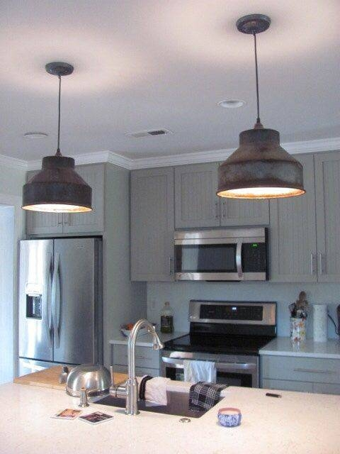 Pendant Lighting Ideas: Awesome Farmhouse Pendant Lighting Kitchen With Best And Newest Farmhouse Style Pendant Lighting (#11 of 15)