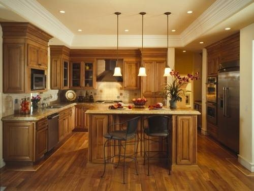 Popular Photo of Rustic Pendant Lighting For Kitchen
