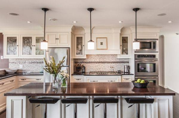 Popular Photo of Pendant Lights For Kitchen Over Island