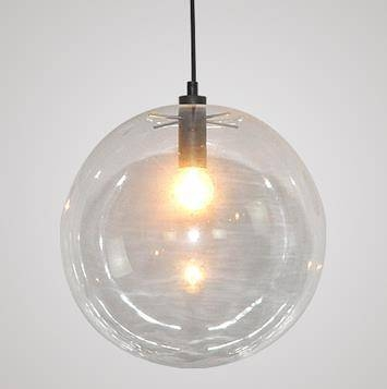 Pendant Lighting Ideas: Best Round Glass Pendant Light Fixture In Most Popular Round Glass Pendant Lights (#11 of 15)