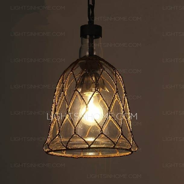 Pendant Lighting Ideas: Clear Shades Hand Blown Glass Mini Pendant Pertaining To Recent Shades Glass Mini Pendant Light (#11 of 15)