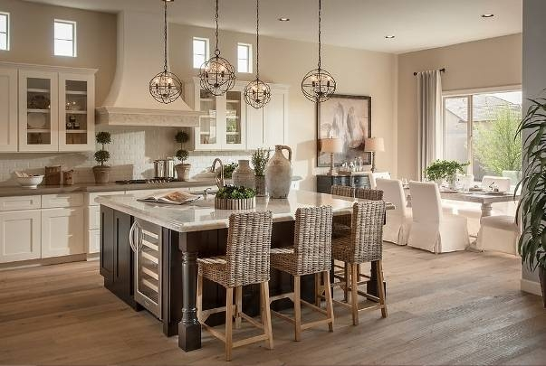 Pendant Lighting Ideas: Rustic Small Kitchen Island Pendant Lights Regarding 2018 Island Pendant Light Fixtures (View 15 of 15)