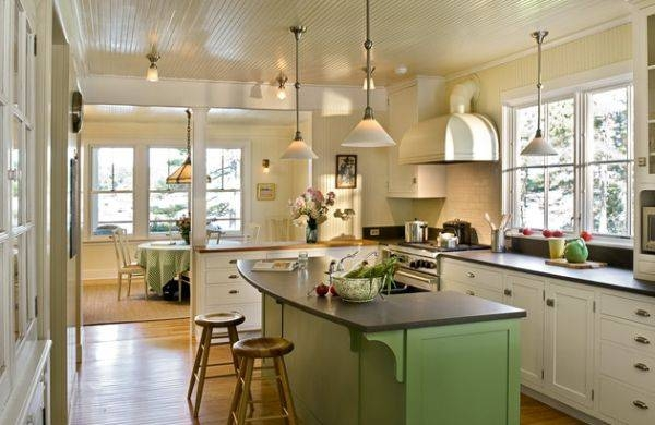 Pendant Lighting Ideas: Sensational Pendant Kitchen Light Fixtures Intended For 2017 Pendant Lights In Kitchen (#14 of 15)