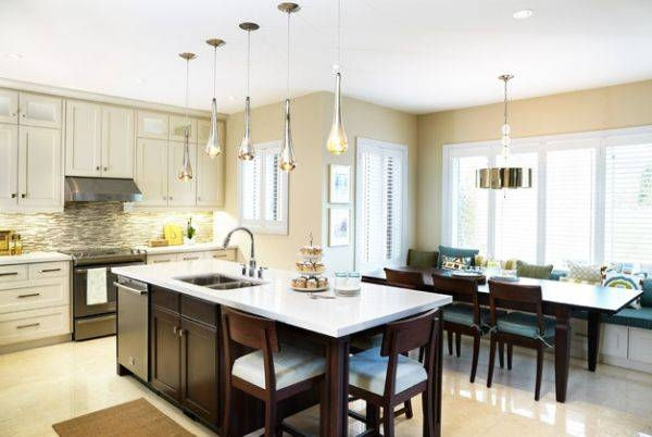 Pendant Lighting Ideas: Top Pendant Lights Over Island Spacing With Regard To Best And Newest Pendant Lights For Island (#13 of 15)