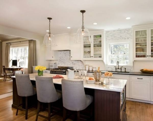 Pendant Lighting Ideas: Top Pendant Lights Over Kitchen Island For Most Recently Released Pendant Lights For Island (#14 of 15)
