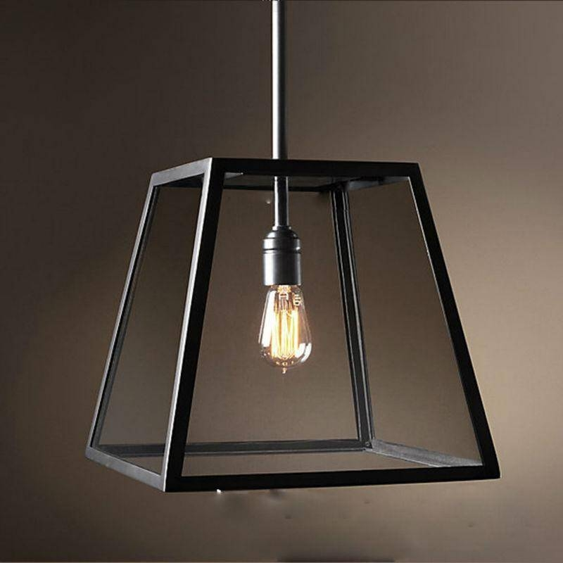 Pendant Lights Vintage Pendant Light Industrial Edison Lamp For Best And Newest Industrial Glass Pendant Lights (#12 of 15)