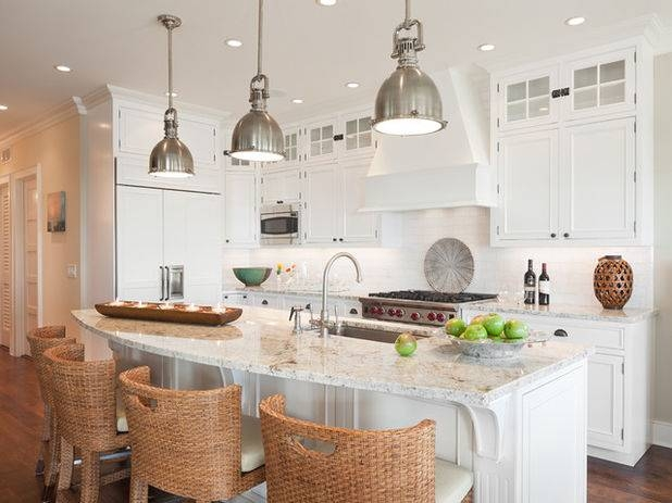 Pick The Right Pendant For Your Kitchen Island Regarding Brilliant In Best And Newest Island Pendant Lights (#15 of 15)