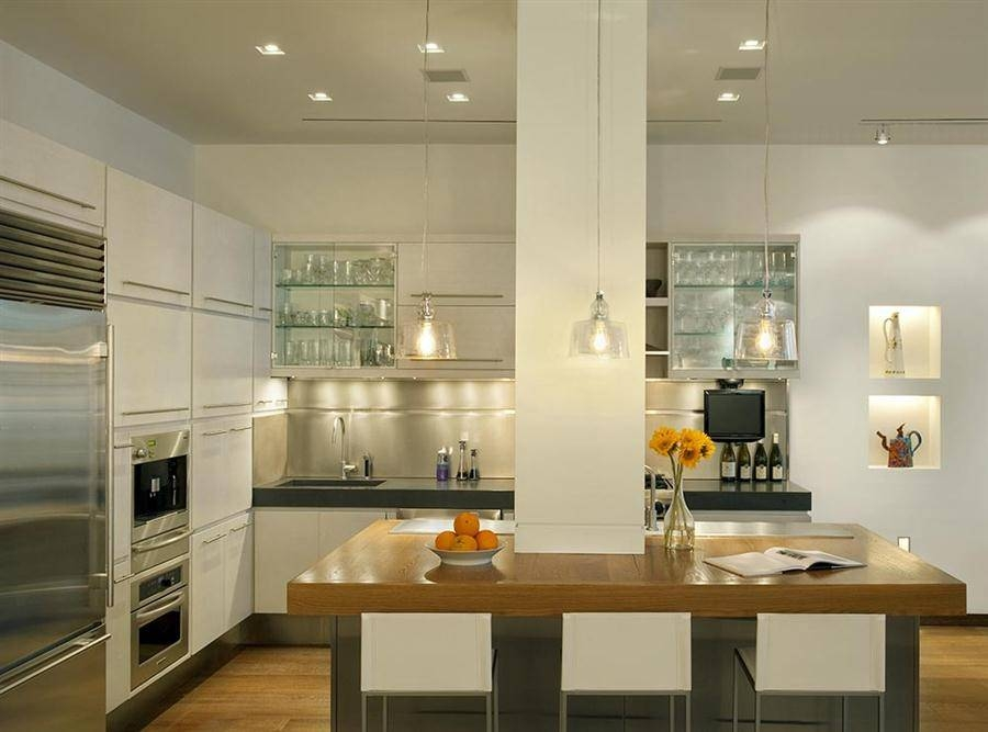 Pleasing Glass Pendant Lights For Kitchen Island Easy With Regard In 2018 Glass Kitchen Pendant Lights (#14 of 15)