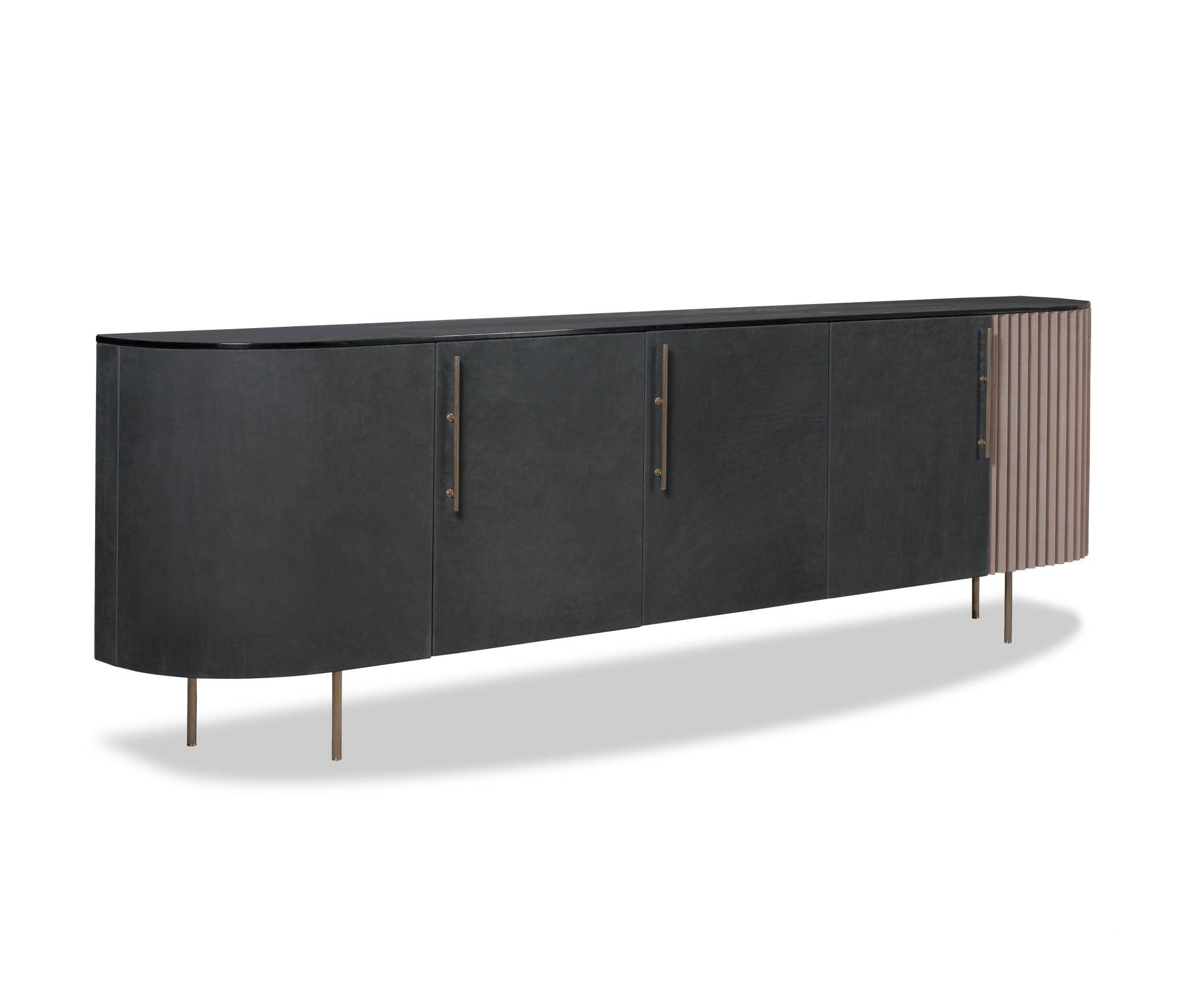 Plissé Low Cabinet – Sideboards From Baxter | Architonic Intended For Recent Small Low Sideboards (#12 of 15)