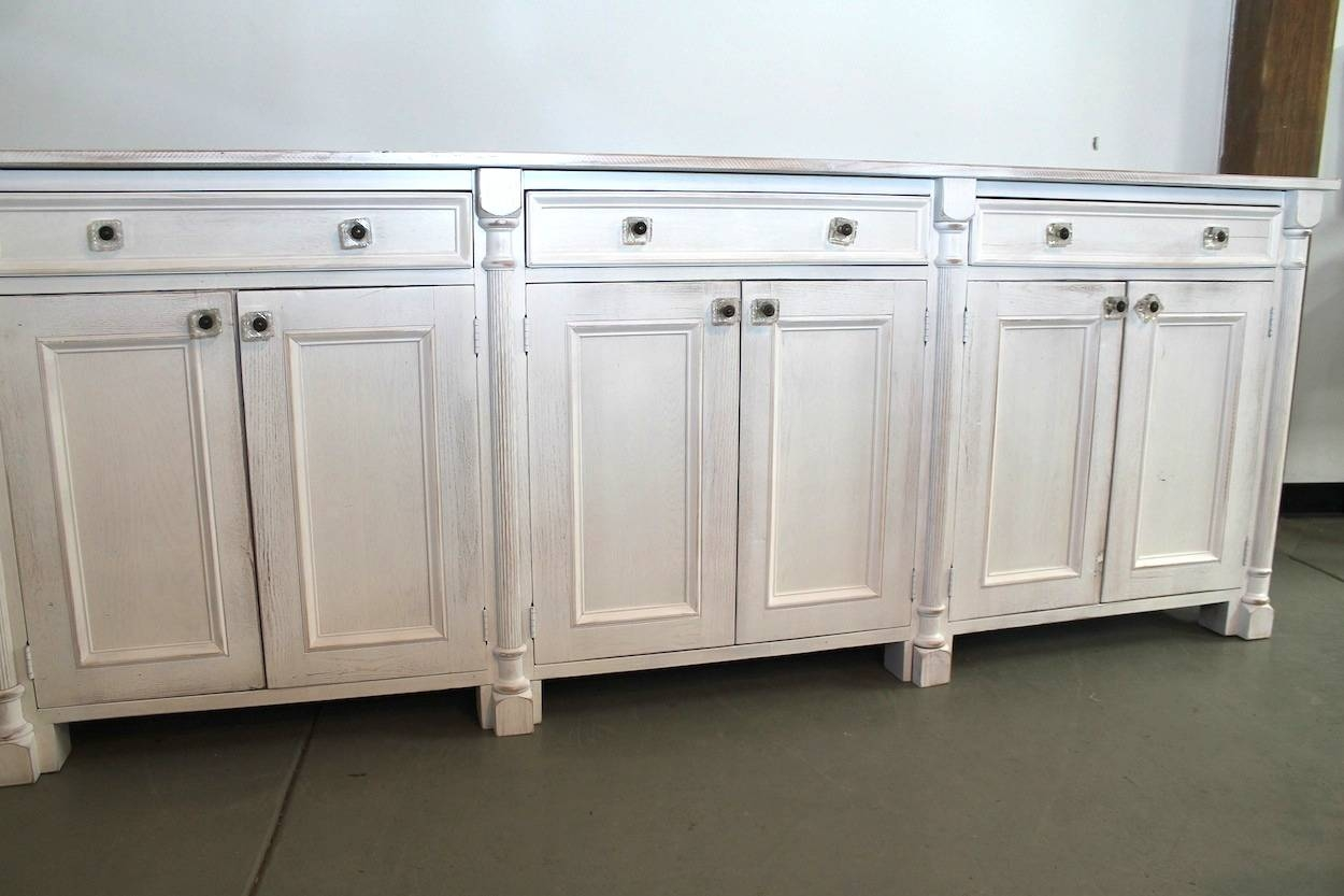 Popular Kitchen Buffet With Hutch For Recent Extra Long Sideboards And Buffets (#7 of 15)