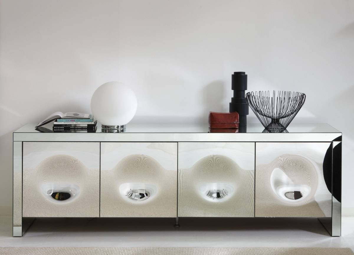 Porada Empire Mirrored Sideboard – Porada Furniture At Go Modern Throughout Most Recent Mirror Sideboards (View 6 of 15)