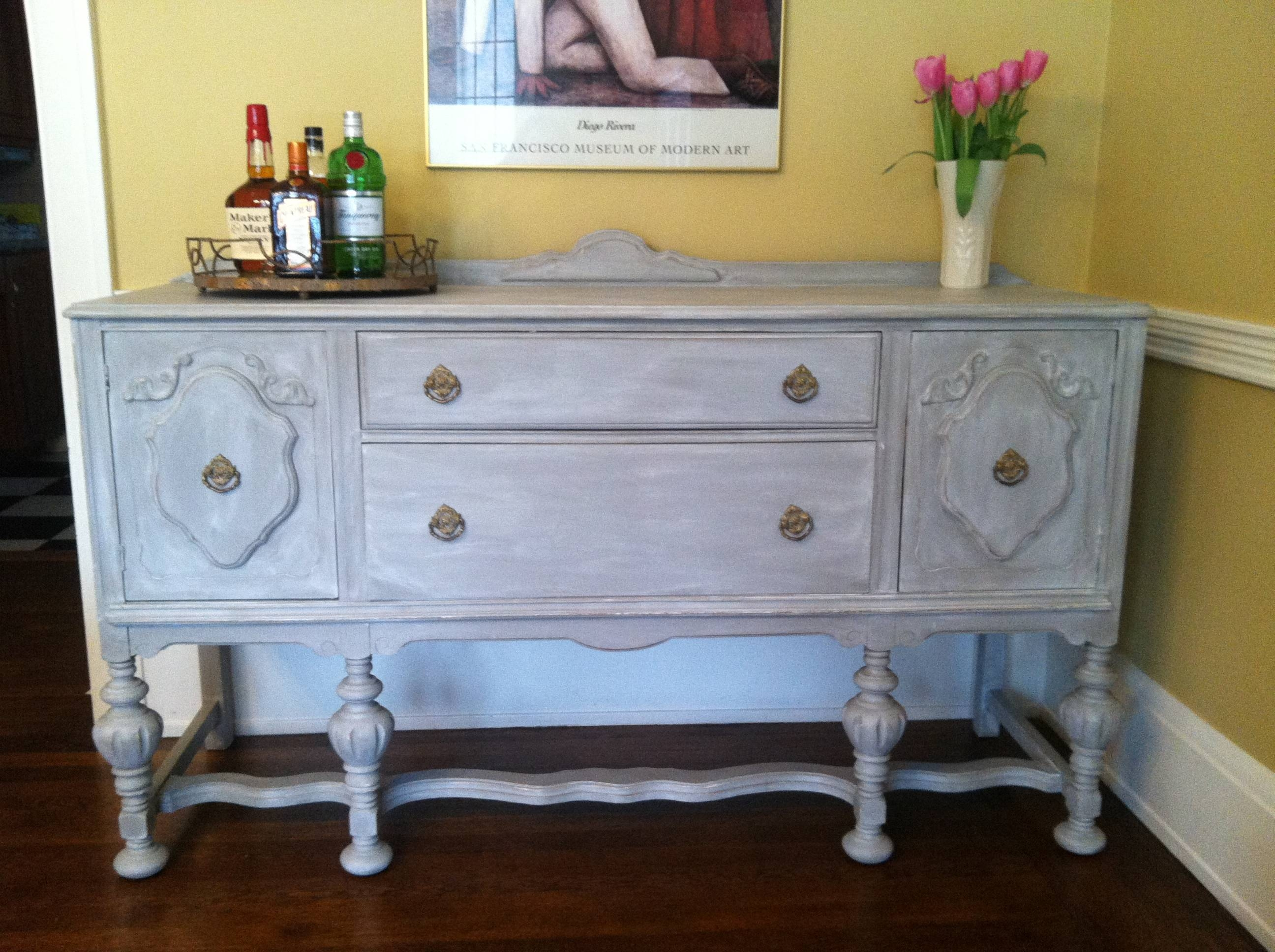 Project File: Adventures In Annie Sloan Chalk Paint | Sharon Holbrook Throughout Most Recently Released Annie Sloan Painted Sideboards (#11 of 15)