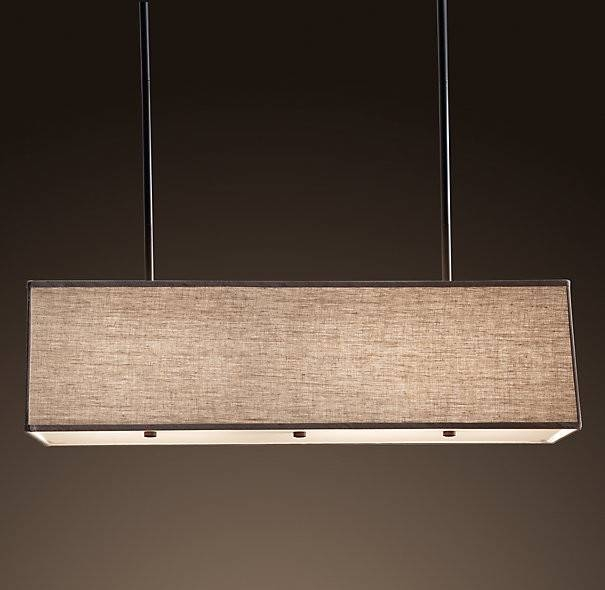 Inspiration about Rectangular Pendant Light – Hbwonong Intended For Most Current Rectangular Pendant Lights (#2 of 15)