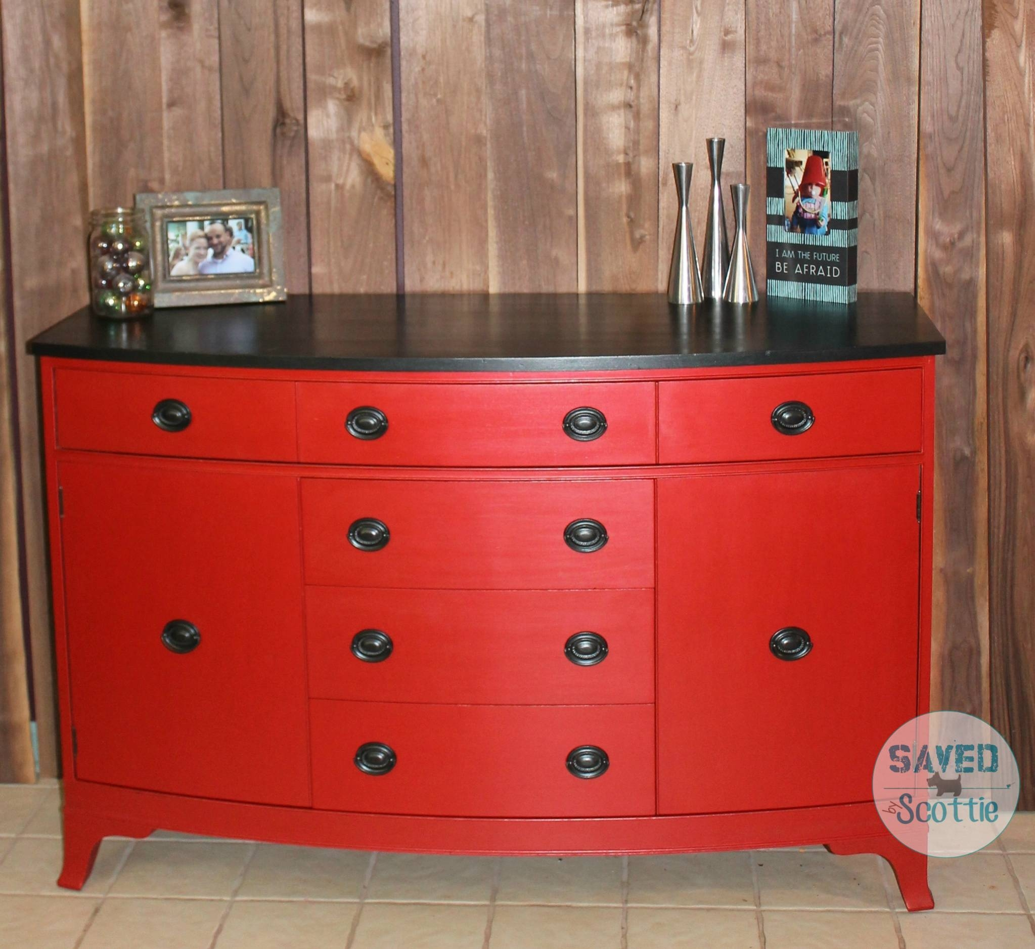 Inspiration about Red Buffet – Savedscottie Pertaining To Most Recently Released Red Sideboards Buffets (#8 of 15)