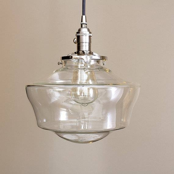 Inspiration about Remarkable Schoolhouse Pendant Light Awesome Pendant Design Within Most Recent Schoolhouse Pendant Lights (#12 of 15)