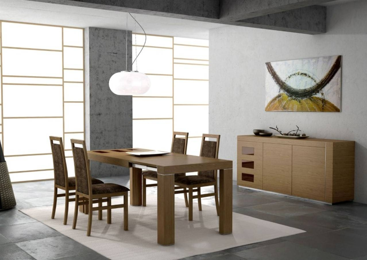 Revamping Your Dining Room Sense Through Vogue Modern Tables In Most Current Dining Tables And Sideboards (#11 of 15)