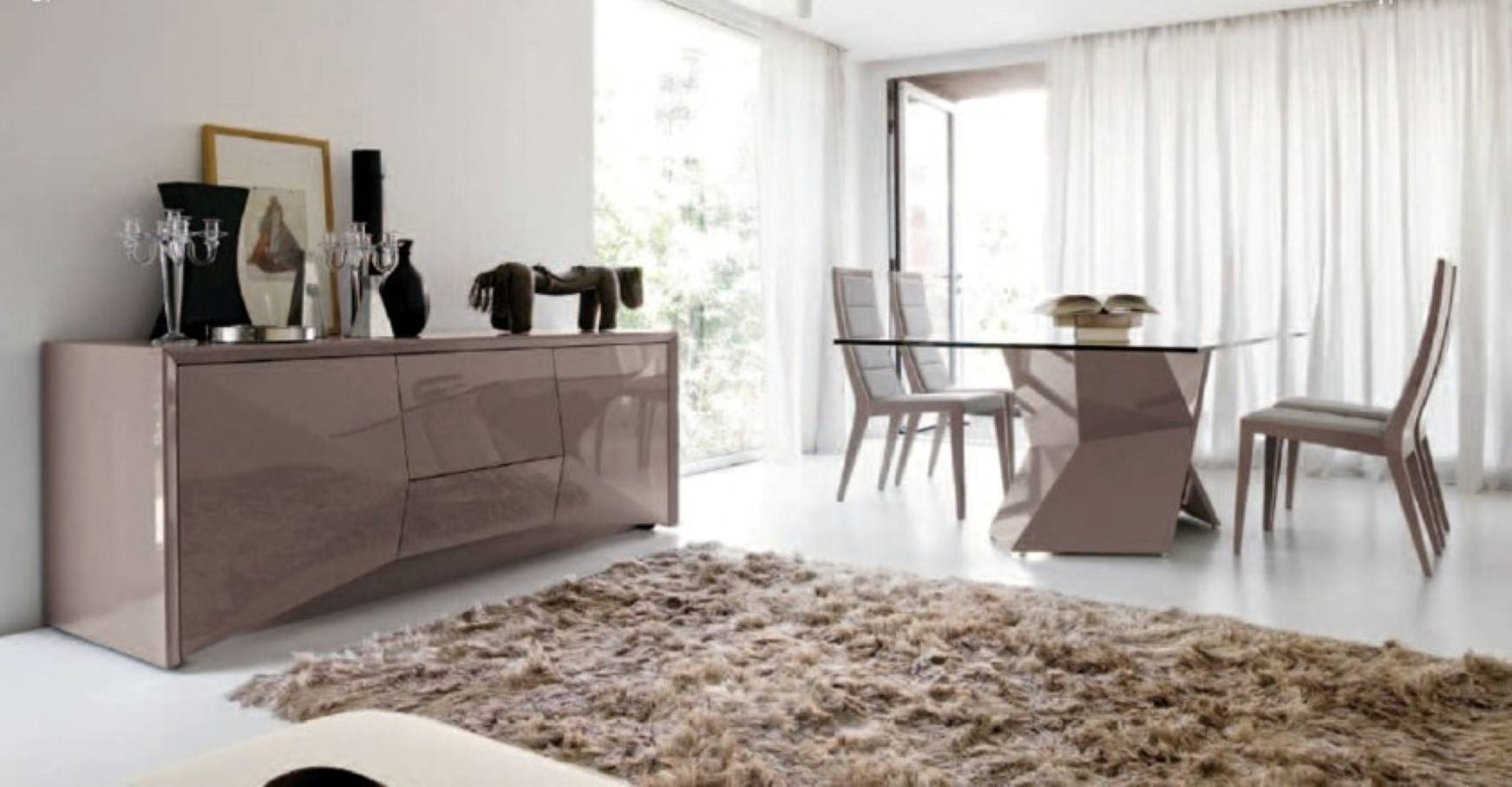 Revamping Your Dining Room Sense Through Vogue Modern Tables With Most Popular Dining Tables And Sideboards (#12 of 15)