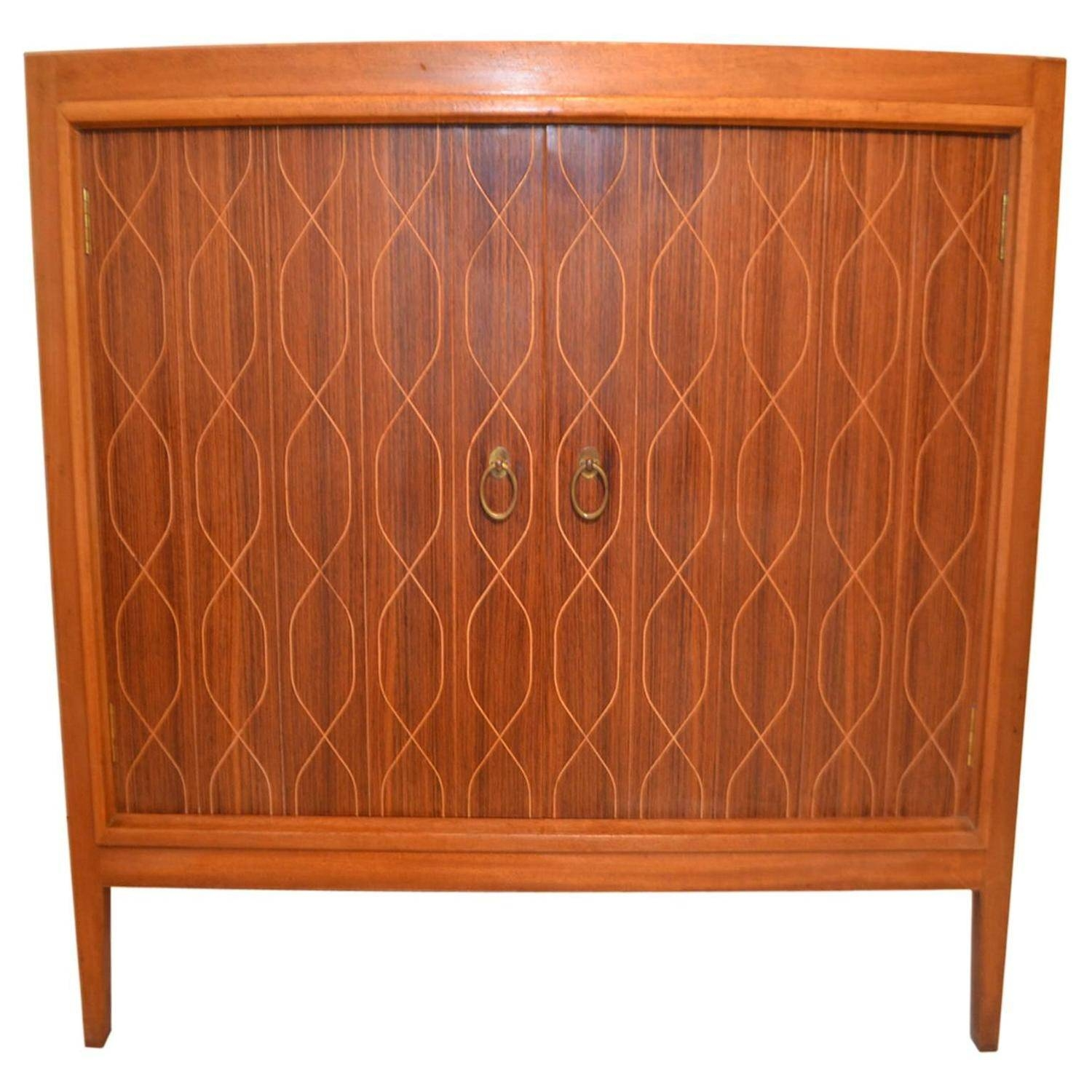 Rosewood And Mahogany Helix Sideboardbooth And Ledeboer For Pertaining To Most Popular Gordon Russell Helix Sideboards (#10 of 15)