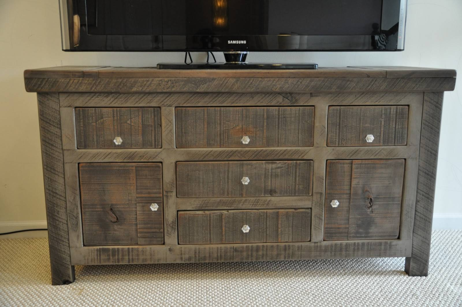 Inspiration about Rustic Entertainment Console | Rustic Buffet | Tv Console Inside Most Popular Rustic Sideboards Buffets (#9 of 15)
