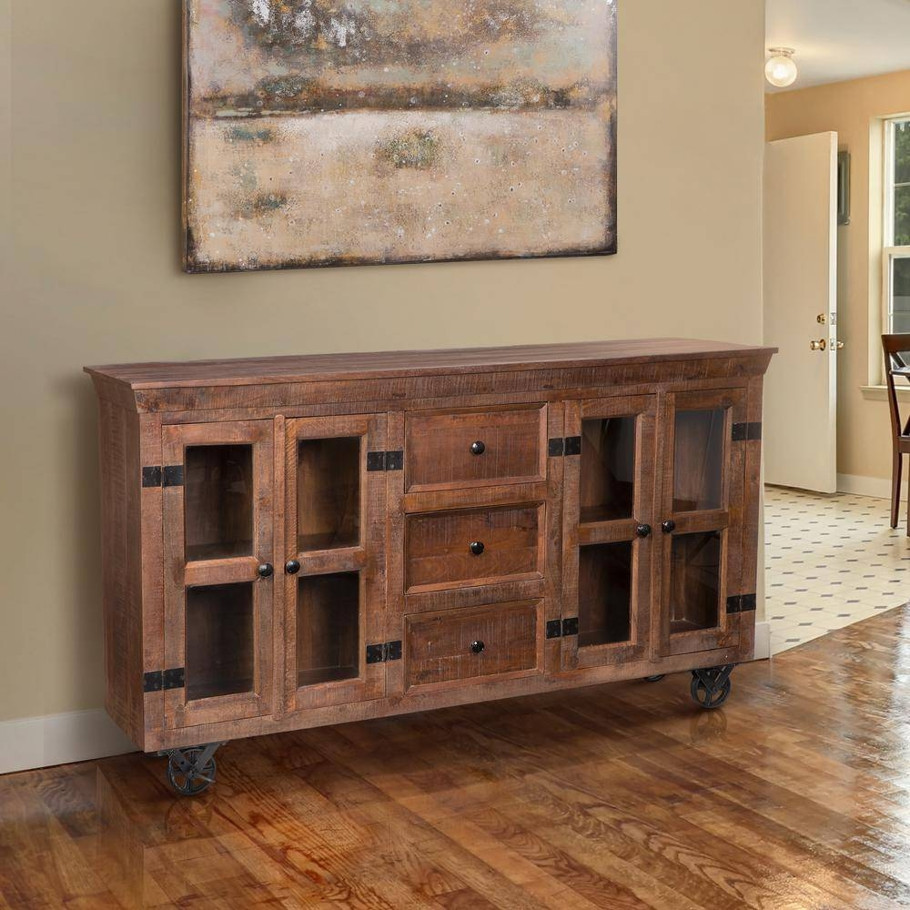 Inspiration about Rustic – Sideboards & Buffets – Kitchen & Dining Room Furniture In Most Current Buffets And Sideboards (#14 of 15)